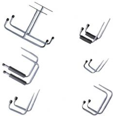 DURATOOL D01969  Storage Hook Set - 12Pc